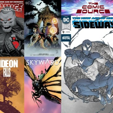 The Comic Source Podcast Episode 551 – New Comic Wednesday October 17, 2018