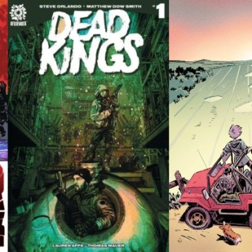 The Comic Source Podcast Episode 560 – AfterShock Monday: Babyteeth #13, Beyonders #3, Dead Kings #1