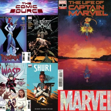 The Comic Source Podcast Episode 561 – Marvel Monday: Titles for October 17, 2018