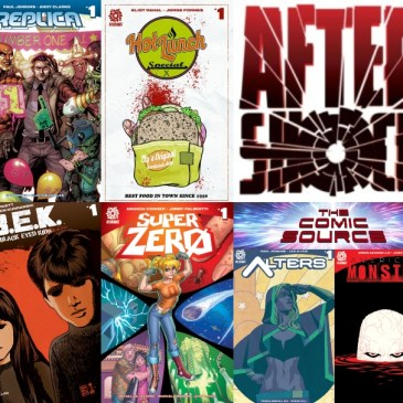 The Comic Source Podcast Episode 571 – AfterShock Monday: Top 5 Titles