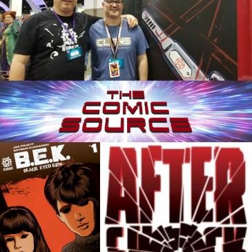 The Comic Source Podcast Episode 590 – AfterShock Monday: B.E.K. Spotlight