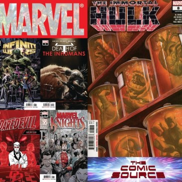 The Comic Source Podcast Episode 591 – Marvel Monday: Titles for November 7, 2018