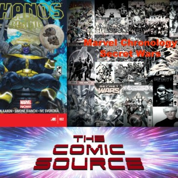 The Comic Source Podcast Episode 596 – Marvel Chronology: Thanos Rising #2