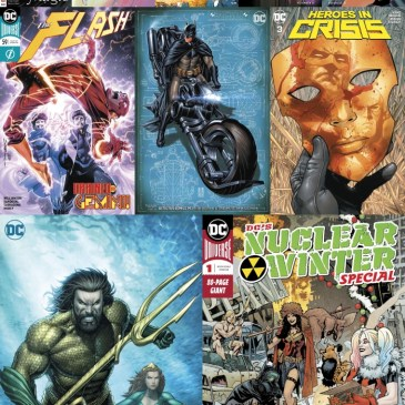 The Comic Source Podcast Episode 612 – New Comic Wednesday: November 28, 2018