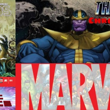 The Comic Source Podcast Episode 615 – Marvel Chronology: Thanos Rising #4