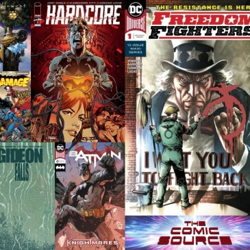 The Comic Source Podcast Episode 640 – New Comic Wednesday December 19, 2018