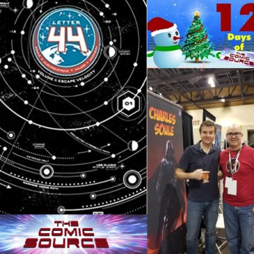 The Comic Source Podcast Episode 643 – Spotlight on Letter 44 with Charles Soule & Alberto Jimenez Alburquerque
