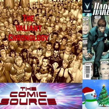 The Comic Source Podcast Episode 645 – Valiant Sunday – Chronology: Harbinger #4