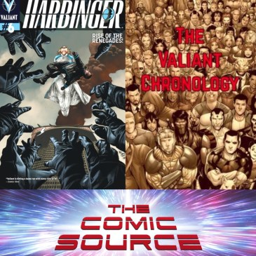 Valiant Sunday – Chronology – Harbinger #6: The Comic Source Podcast Episode #665