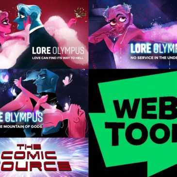 Lore Olympus with Rachel Smythe – Webtoon Wednesday – The Comic Source Podcast Episode #670