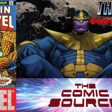 Thanos Chronology – Captain Marvel #26: The Comic Source Podcast Episode #674