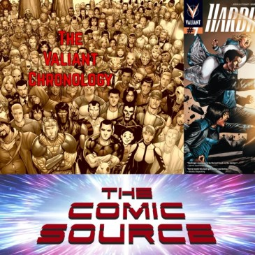 Harbinger #7 – Valiant Sunday Chronology: The Comic Source Podcast Episode #676