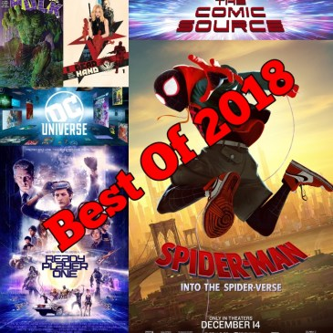 Best of 2018 – Podcast Crossover with Los Fanboys: The Comic Source Podcast Episode #703