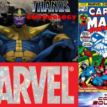 Marvel Chronology – Thanos Reading Order – Captain Marvel #28: The Comic Source Podcast Episode #695