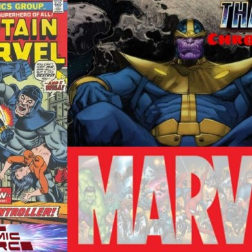 Marvel Chronology – Thanos Reading Order: Captain Marvel #30: The Comic Source Podcast Episode #715