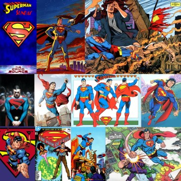 Superman Sunday – Top 5 Superman Artists: The Comic Source Podcast Episode #717