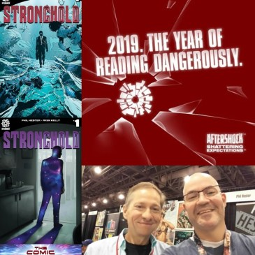 AfterShock Monday – Stronghold Spotlight with Phil Hester: The Comic Source Podcast Episode #728