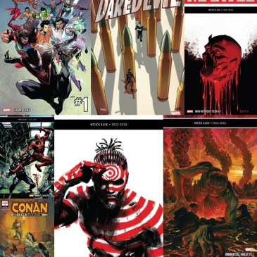 Marvel Monday: Champions #1, Conan #1, Immortal Hulk #11, Killmonger #3, Marvel Knights #5, Man without Fear #1, Daredevil #16: The Comic Source Episode #668