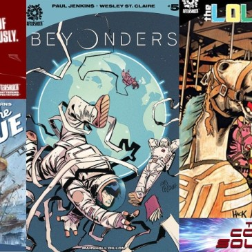 AfterShock Monday – Beyonders #5, Lollipop Kids #4 & Out of the Blue HC: The Comic Source Podcast Episode #778
