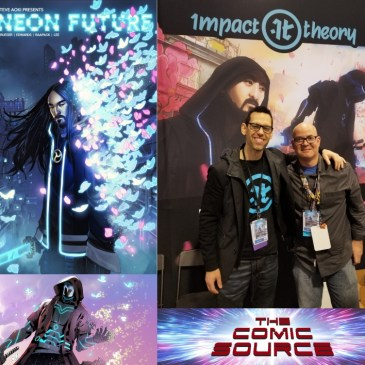 Neon Future Spotlight with Thomas Bilyeu: The Comic Source Podcast Episode #795