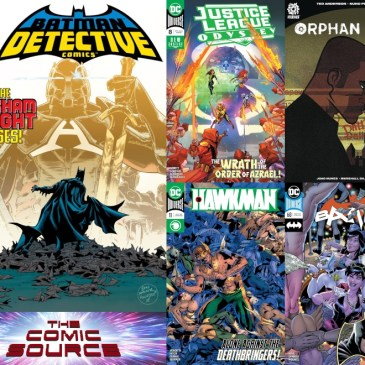 New Comic Wednesday April 10, 2019: The Comic Source Podcast Episode #804
