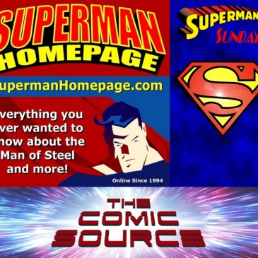 Superman Sunday – Superman Homepage Spotlight with Steve Younis: The Comic Source Podcast Episode 810