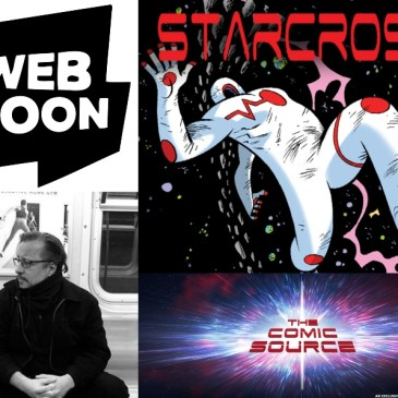 Webtoon Wednesday – Star Cross with Dean Haspiel: The Comic Source Podcast Episode #815