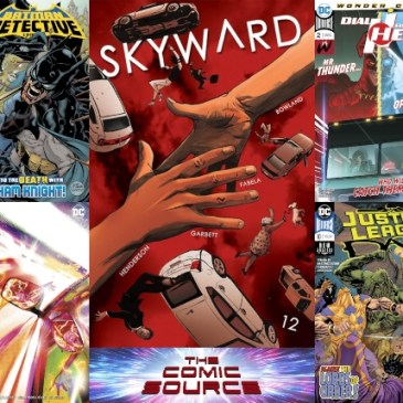 New Comic Wednesday April 24, 2019: The Comic Source Podcast Episode 823