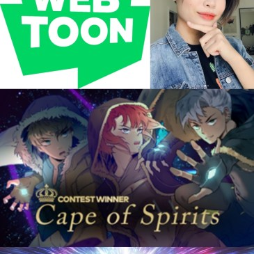WEBTOON WEDNESDAY – Cape of Spirits with Kristina Nguyen: The Comic Source Podcast Episode #855