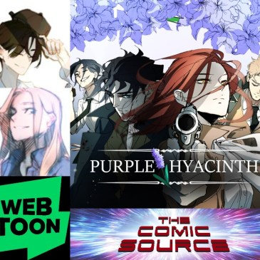 WEBTOON Wednesday – Purple Hyacinth with Emphemerys & Sophism: The Comic Source Podcast Episode 925