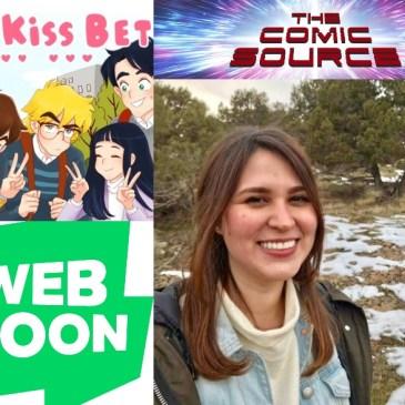 Webtoon Wednesday – The Kiss Bet with Ingrid Ochoa: The Comic Source Podcast Episode #957