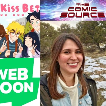 Webtoon Wednesday – The Kiss Bet with Ingrid Ochoa: The Comic Source Podcast Episode #957