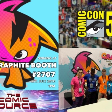 San Diego Sound Bytes – Graphite Comics with Tom Akel: The Comic Source Podcast