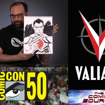 Valiant Sunday – Bloodshot with Tim Seeley from SDCC 2019: The Comic Source Episode #971