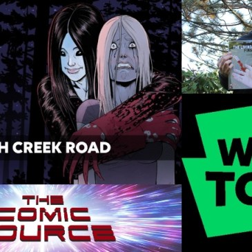 WEBTOON Wednesday – Witch Creek Road with Garth Matthams: The Comic Source Podcast Episode #1018