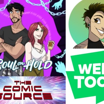 WEBTOON Wednesday – Soul on Hold with Austen Marie: The Comic Source Podcast Episode #1058
