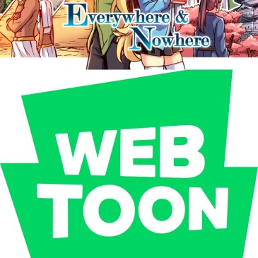 WEBTOON Wednesday – Everywhere and Nowhere with Merryweathery: The Comic Source Podcast Episode #1098