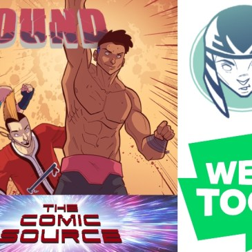 WEBTOON Wednesday – Pound with Orlando Caicedo: The Comic Source Podcast Episode #1108