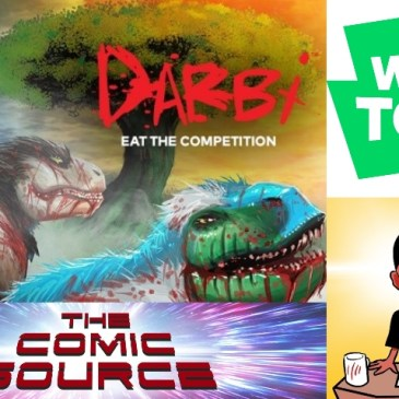 WEBTOON Wednesday – Darbi with Sherard Jackson: The Comic Source Podcast Episode #1107