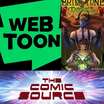 WEBTOON Wednesday – Brimstone & Roses with Mei Rothschild: The Comic Source Podcast Episode #1187