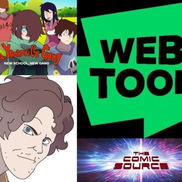 WEBTOON Wednesday – Da Yomanville Gang with Jason King: The Comic Source Podcast Episode #1228