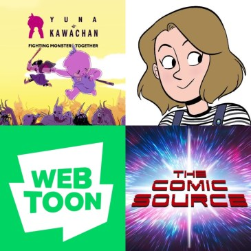 WEBTOON Wednesday – Yuna & Kawachan with Lauren Schmidt: The Comic Source Podcast Episode #1248
