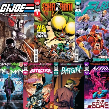 New Comic Wednesday July 22nd 2020: The Comic Source Podcast
