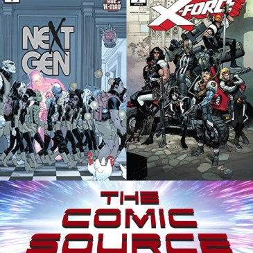 Age of X-Man-NextGen #1 & X-Force #2 – X-Tuesday: The Comic Source Podcast