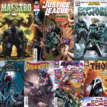 New Comic Wednesday August 19,2020: The Comic Source Podcast