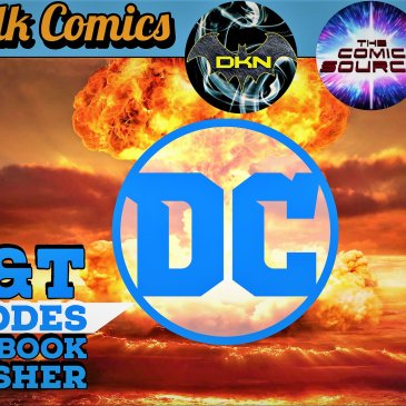Let's Talk Comics – DC Layoffs: The Comic Source Podcast