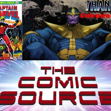 Captain Marvel #32 – Thanos Reading Order Marvel Chronology: The Comic Source Podcast