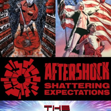 Dark Red #'s 1 & 2 – AfterShock Monday: The Comic Source Podcast