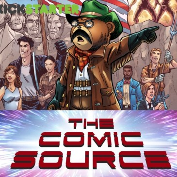 In Teddy We Trust – Kickstarter Wednesday: The Comic Source Podcast