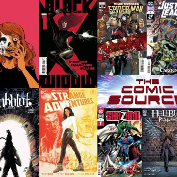 New Comic Wednesday September 2, 2020: The Comic Source Podcast